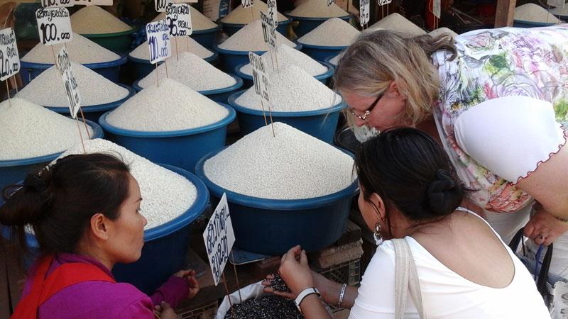 Sélection de riz par Pascaline Brisset